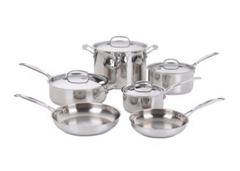10-Piece Chef's Classic™ Cookware Set