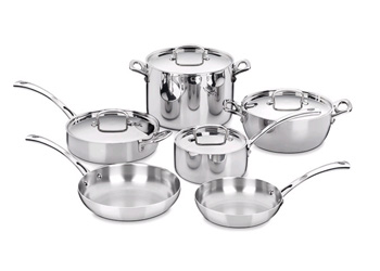 French Cookware 10-Piece Set