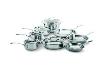 13-Piece Tri-Ply Stainless Steel Set
