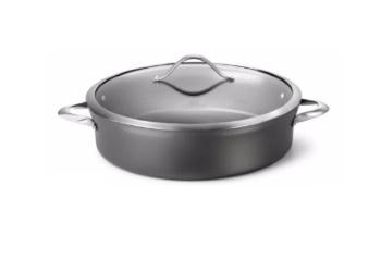 Contemporary Nonstick 7-Quart Sauteuse Pan