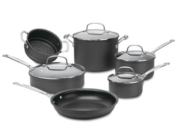 Chef's Classic™ Hard Anodized 10-Piece Cookware Set