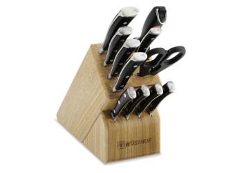Classic Ikon 12-Piece Knife Set with Block