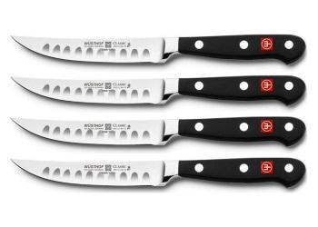 Classic 4-Piece Hollow Edge Steak Knife Set