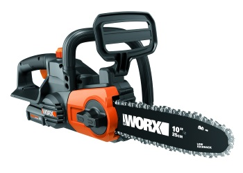"""20V 10"""" Cordless Chainsaw with Auto-Tension"""