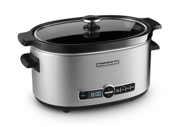 6-Quart Stainless Steel Slow Cooker