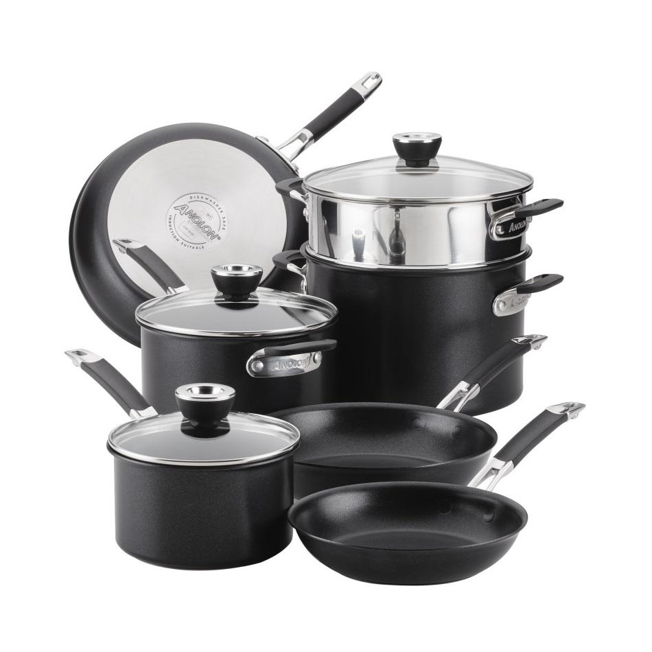 SmartStack 10-Piece Cookware Set
