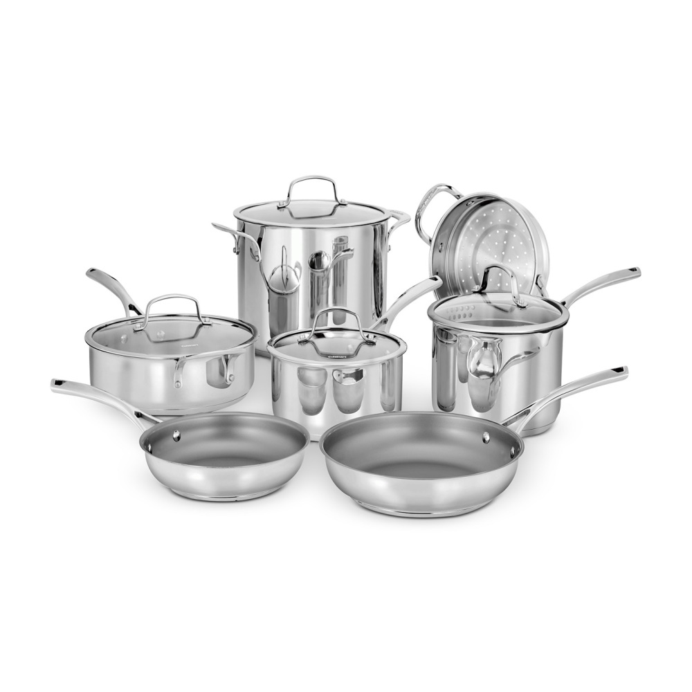 11-Piece Forever Stainless Cookware Set