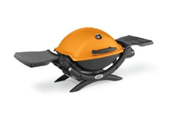Q1200 Liquid Propane Gas Grill - Orange