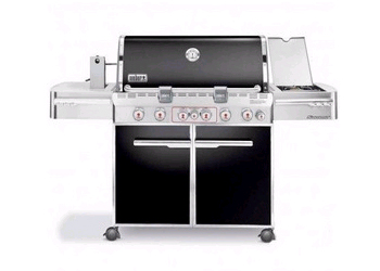 Summit E-670 Liquid Propane Gas Grill - Black