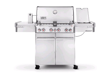 Summit S-470 Liquid Propane Gas Grill - Stainless Steel