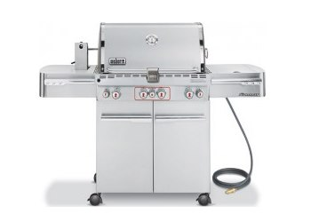 Summit S-470 Natural Gas Grill - Stainless Steel