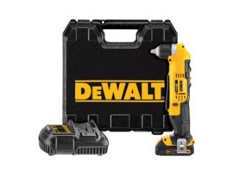 20 Volt Lithium-Ion Compact Right Angle Drill Kit