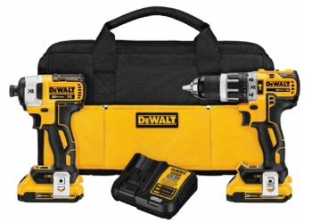 20V MAX* XR Lithium Ion Brushless Compact Hammerdrill & Impact Driver Combo Kit