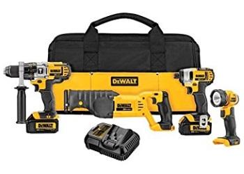 20V MAX* Premium 4-Tool Combo Kit